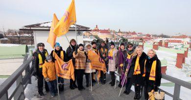 8 марта на Нарышкином бастионе Петропавловской крепости состоялся традиционный женский выстрел!