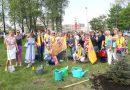 Международный день семей в Петербурге отметили акцией по озеленению Рощинского сада