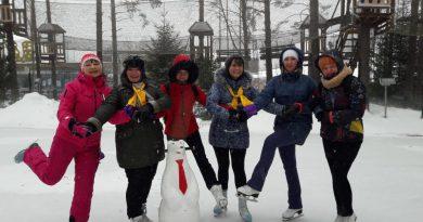 Ледовый каток «Новая высота» состоялся 9 марта 2019 года